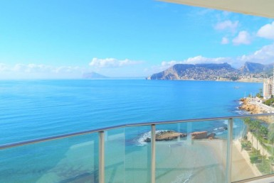 2 Bedroom 2 Bathroom Front Line Apartment for Sale in Calpe