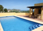 3 Bedroom Villa for Holiday Rent in Moraira