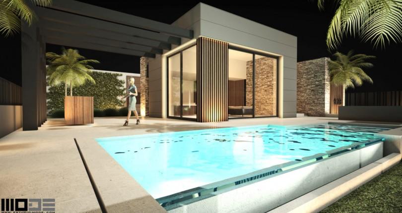 3 bedroom luxury villa for sale in Polop