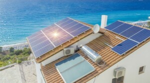 Solar power system in Denia