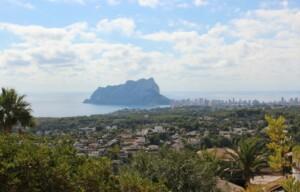 Sea view villa for sale Benissa