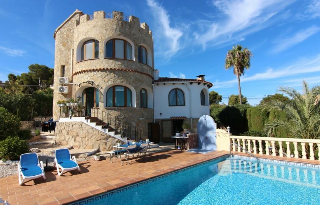 Sea view villa for sale in Balcon al Mar in Javea