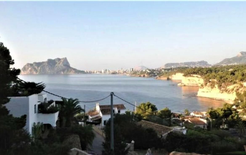Sea view villa for sale in Cap Blanc in Benissa