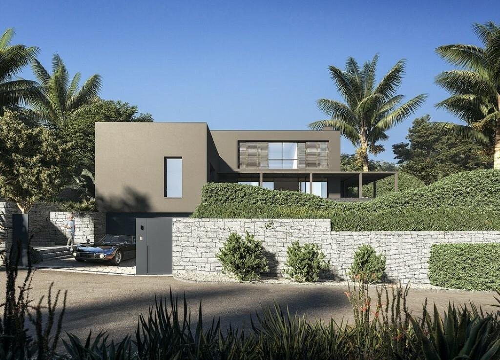 Sea view villa for sale in Cap Blanc in Moraira