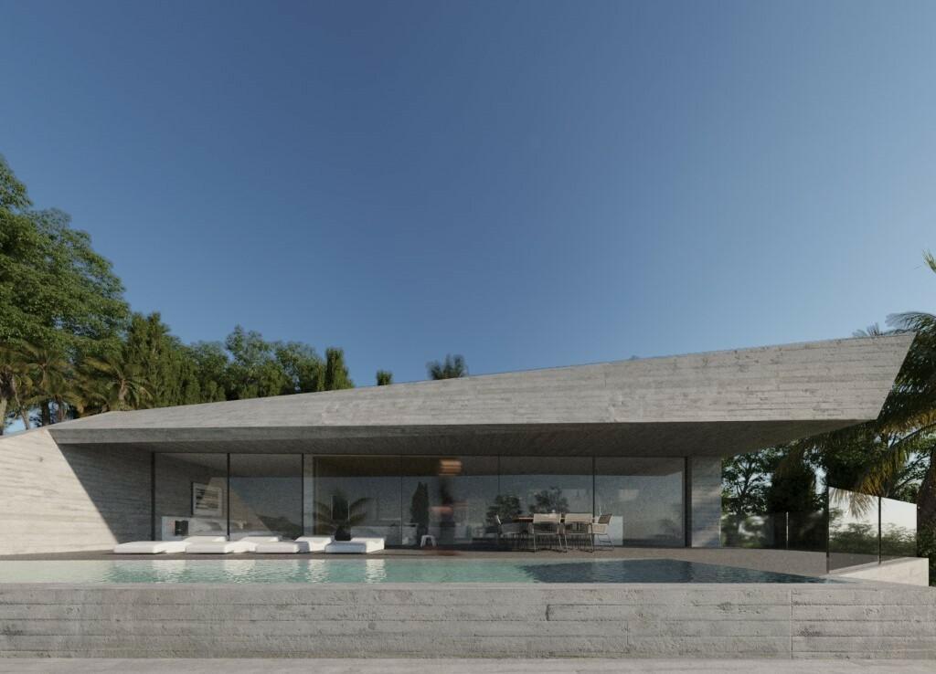 Sea view villa for sale in Montemar in Moraira