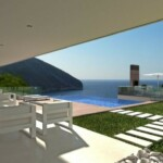Sea view villa for sale in Moraira