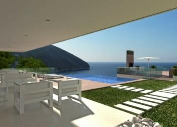 Sea view villa for sale in Moraira