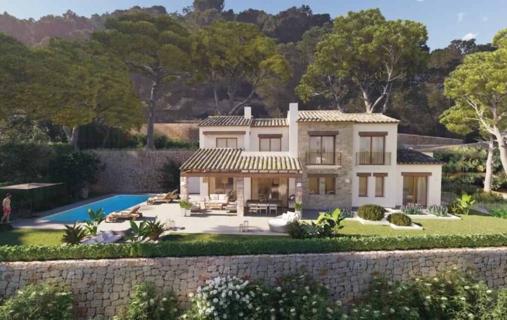 Sea view villa for sale in Piver in Javea