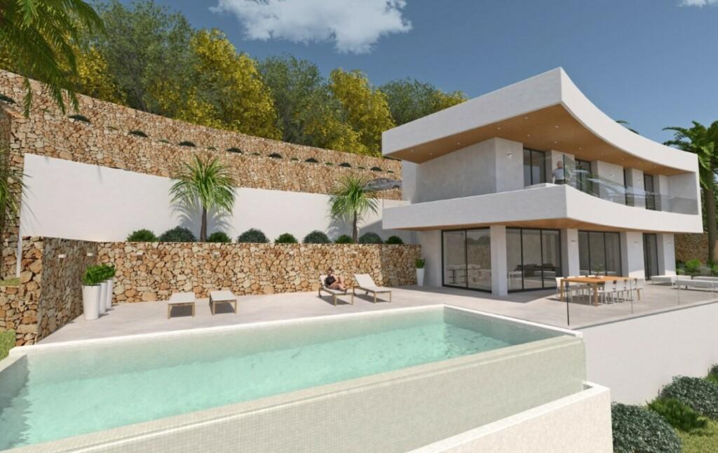 Sea view villa for sale in Xabia Nova in Javea