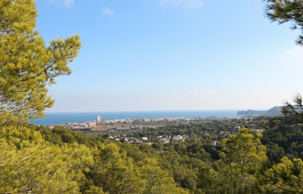 Building plot for sale in Tosalet in Javea with panoramic views