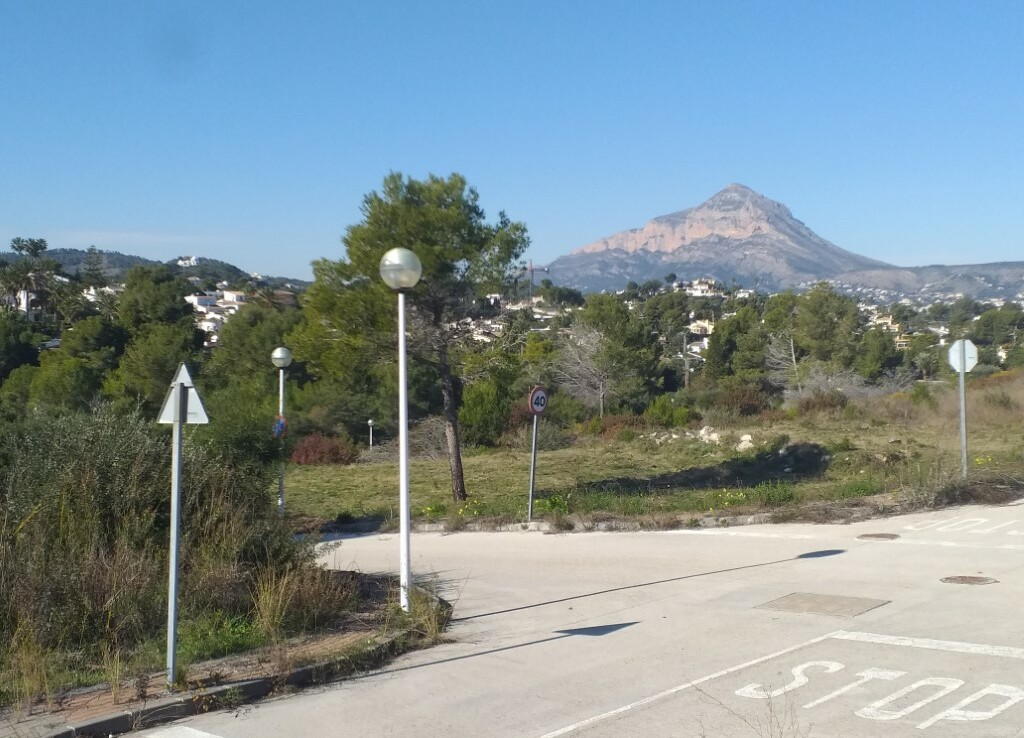 Building plots for sale in Cap Marti in Javea