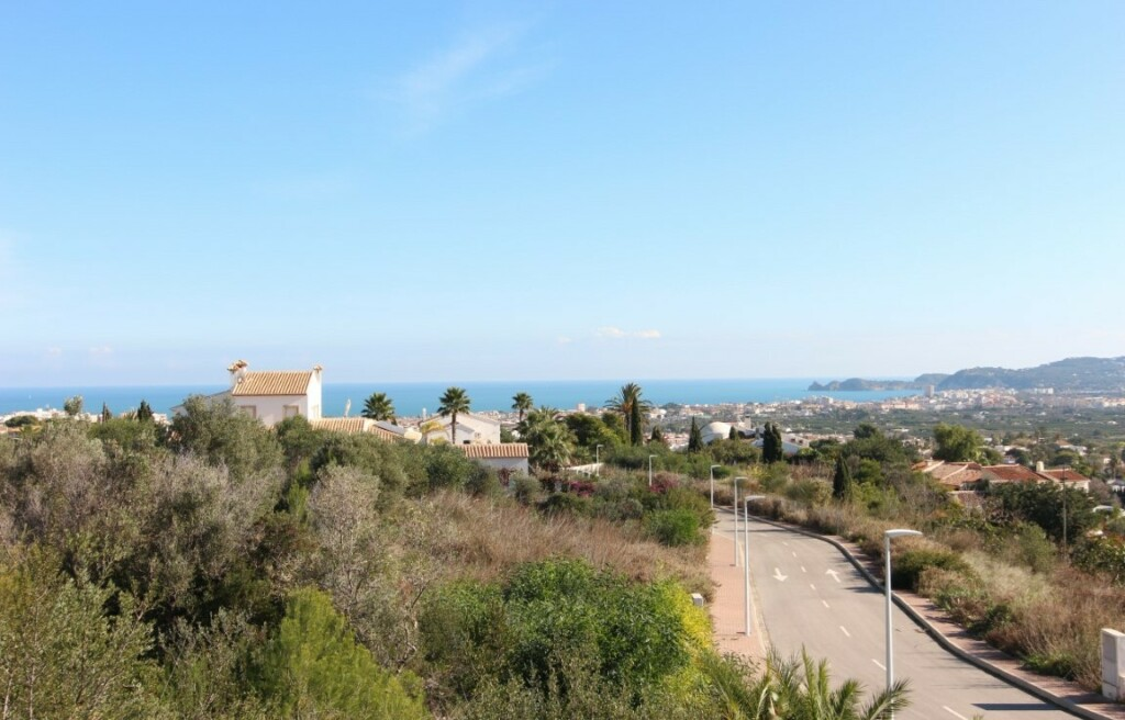 Building plots with sea views for sale in Castellans in Javea