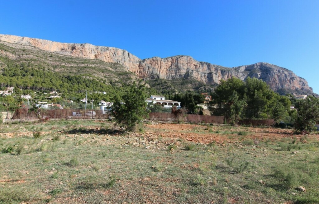 Building plots with valley views for sale in Montgo in Javea