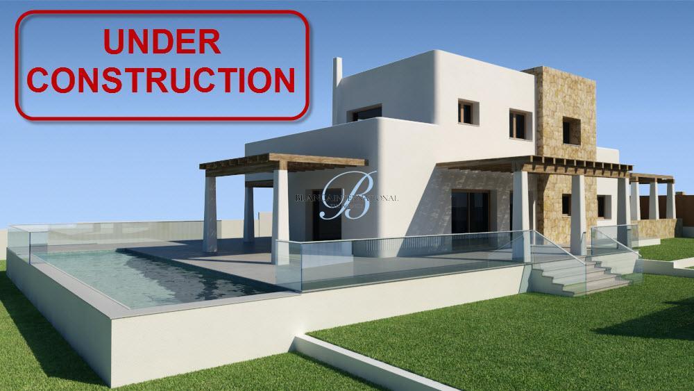 Luxury Ibiza style villa in Puerta Fenicia in Javea
