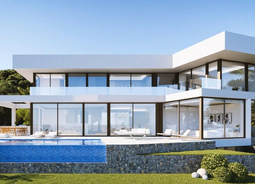 New build luxurious villa for sale in La Fustera in Benissa