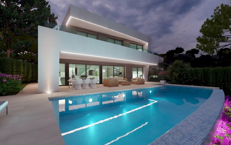 New build villa for sale in Benimeit in Moraira