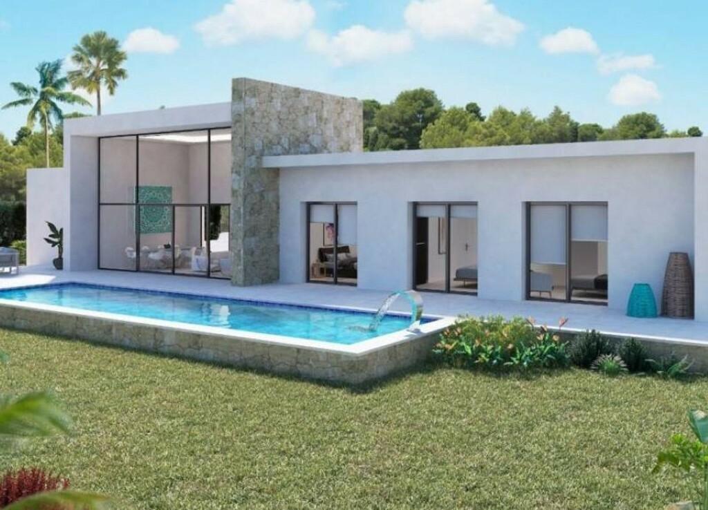New build villa for sale in Buenavista in Benissa