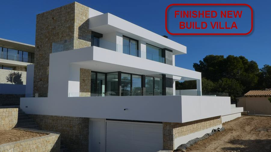 New build villa for sale in El Bosque in Moraira