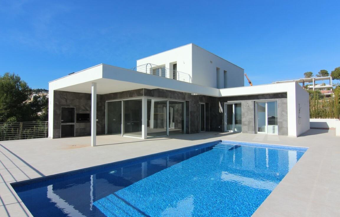 New build villa for sale in El Tesoro in Moraira