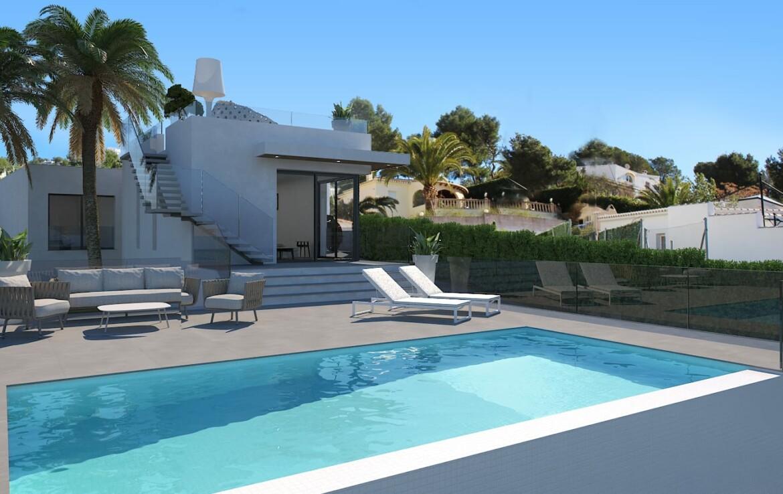New build villa for sale in Paichi in Moraira