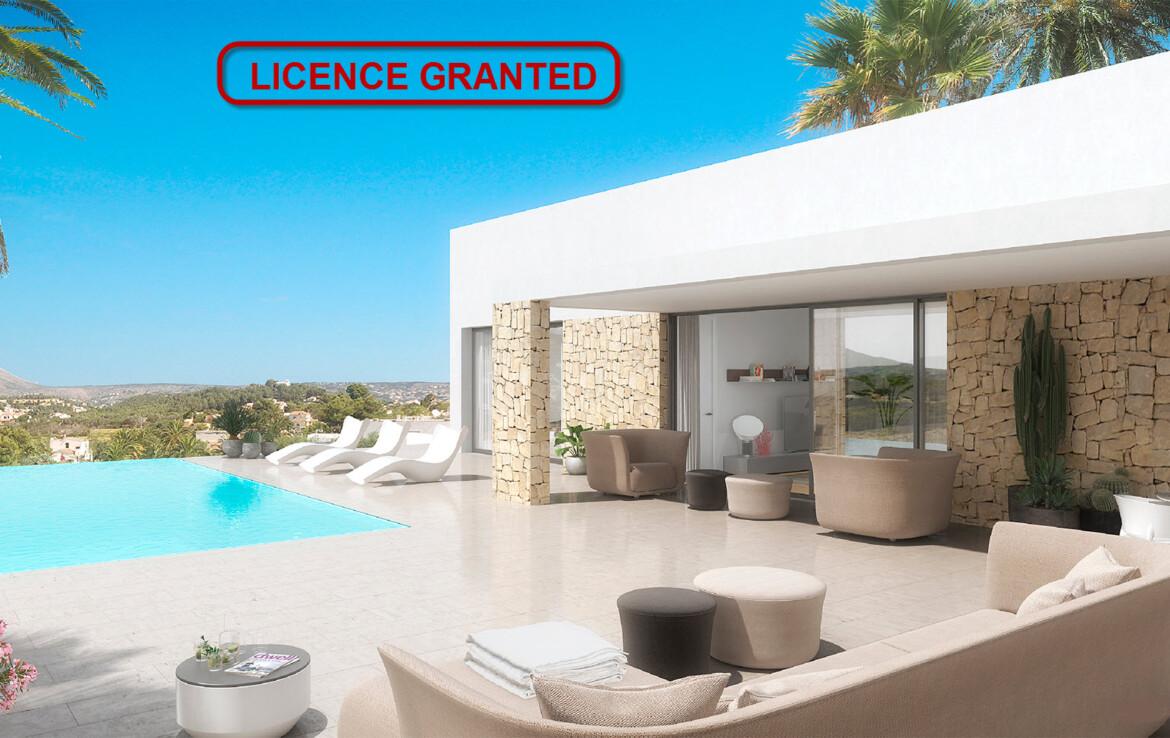 New build villa for sale in Valle del Sol in Javea